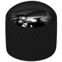 Tower Dome Knob Black