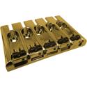3-D Bass Bridge, 5-string, Gold