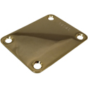 Numbered Neck Plate Gold