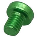 Squareplug Screw Green