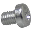 Squareplug Screw Silver