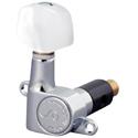 Schaller Machine Head MK -2-O Chrome Acrylic buttons.