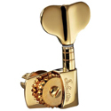 Schaller Machine Head M4S 2 left/ 2 right Gold