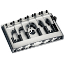 Schaller Guitar bridge 3D-6 Piezo Chrome