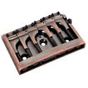 Schaller Guitar bridge 3D-6 Piezo Vintage Copper
