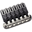 Schaller Guitar bridge Hannes 6 Nickel