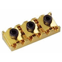 Schaller Tremolo locking nut. R10 Gold