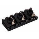 Schaller Tremolo locking nut. R9 Ruthenium