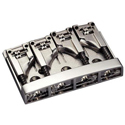 Schaller Bass bridge 3D-4 4-string Chrome