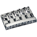 Schaller Bass bridge 3D-5 5-string Chrome