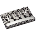 Schaller Bass bridge 3D-5 5-string Satin Chrome