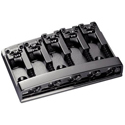 Schaller Bass bridge 3D-5 5-string Ruthenium