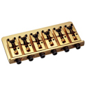 Schaller Bass bridge 2000 6-string Gold