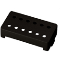 Schaller cover 12 Hole ABS Black