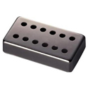 Schaller cover 12 Hole bridge Ruthenium