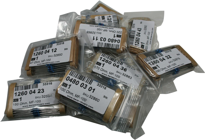 Resistor Value Pack