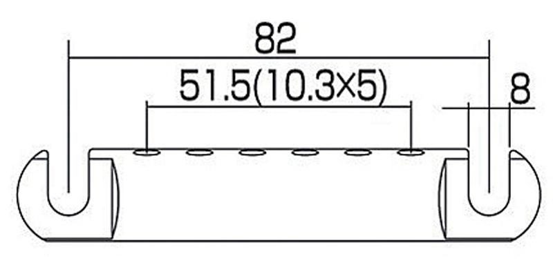 Stop Tailpiece TP-US-NI