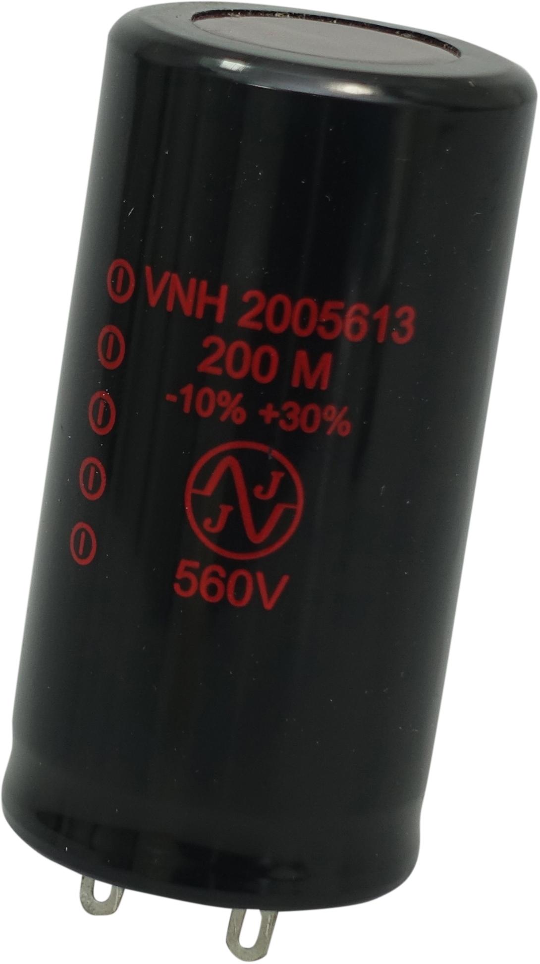 JJ 200uF, 560V radial