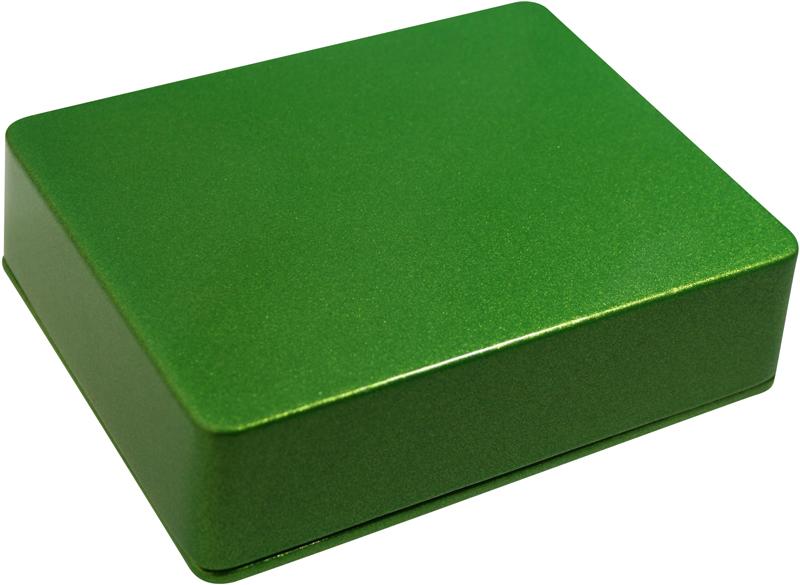 Enclosure BB-Apple Green Sparkle-Bulk