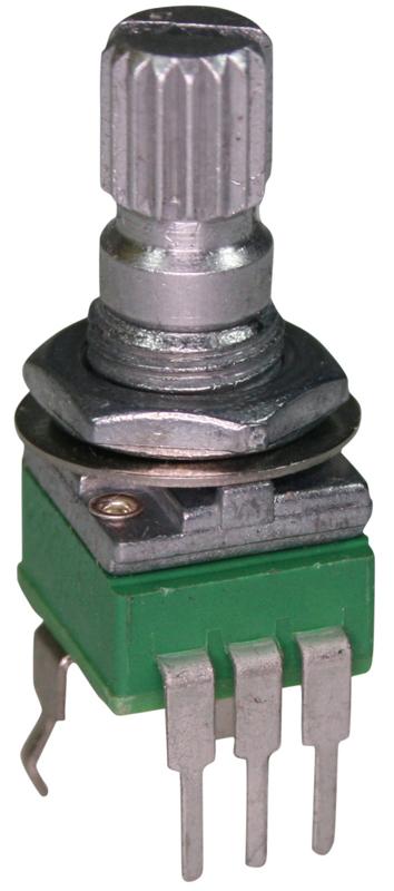 Alpha 9mm split shaft 50k log :: Split Shaft :: Alpha 9mm