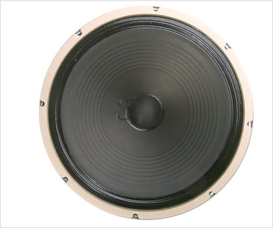 Weber British AlNiCo Silver Bell-RIBBED-75-4 Ohm
