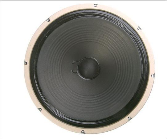 Weber British AlNiCo Silver Bell-RIBBED-100-16 Ohm