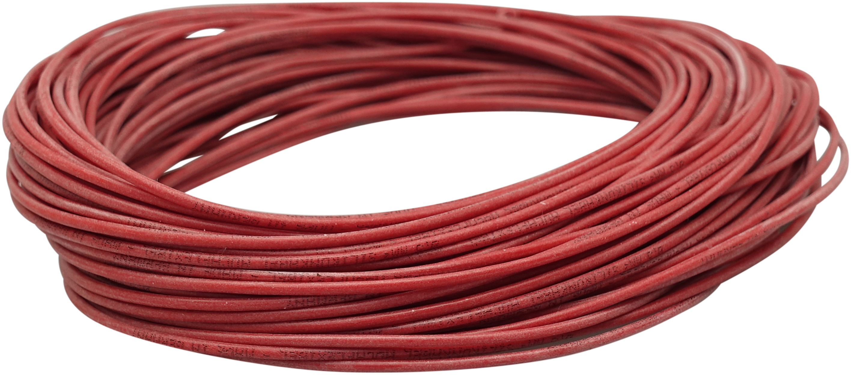Silicon Wire 0,5mm, red 25m