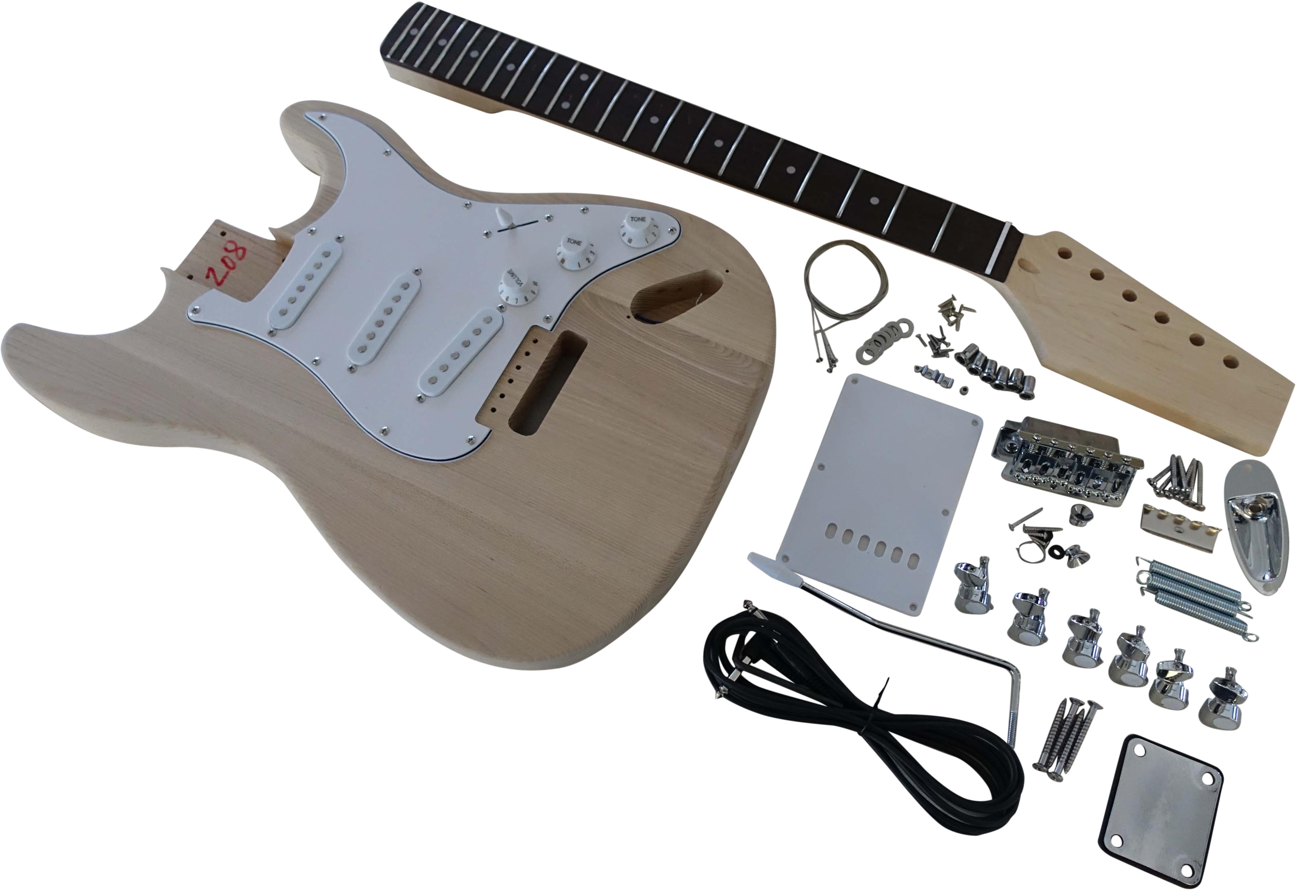 Toronzo Guitar Kit ST-ASH