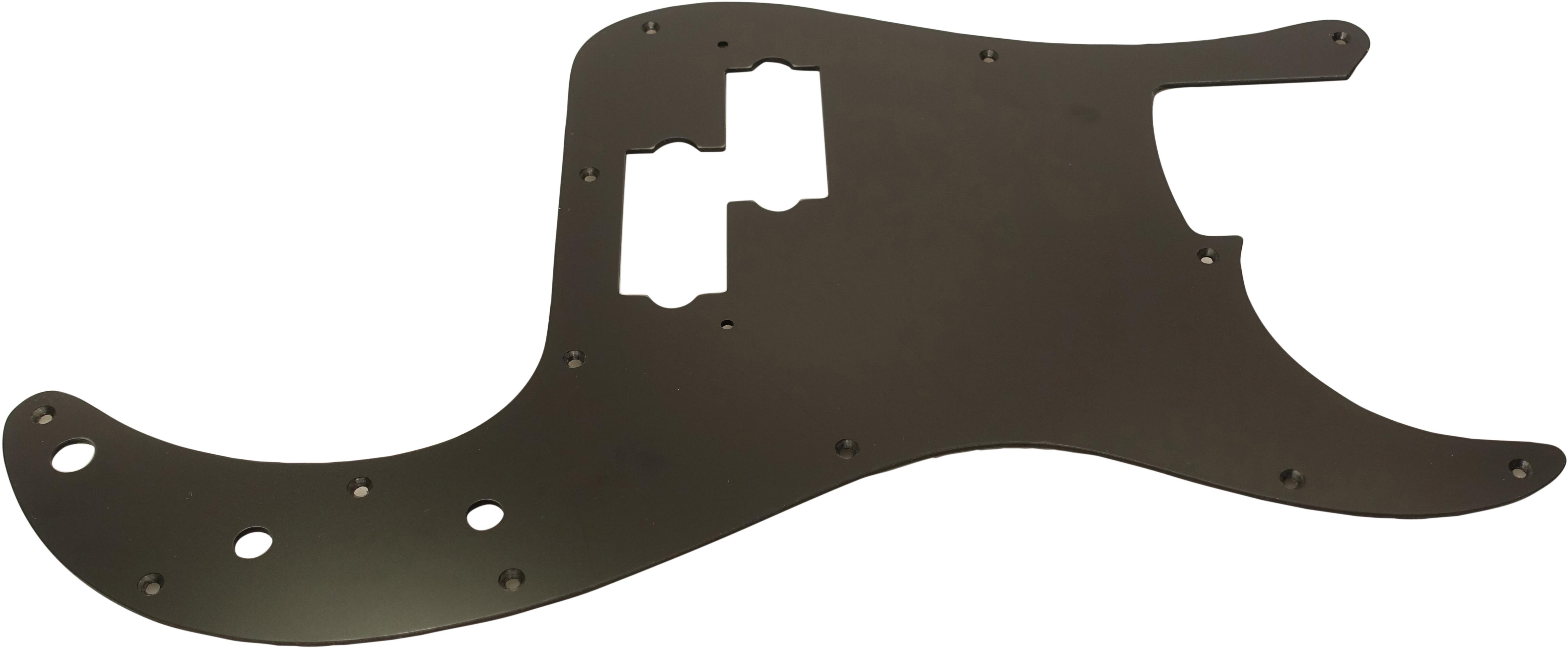 Toronzo Pickguard PB-1PLY-Black Satin