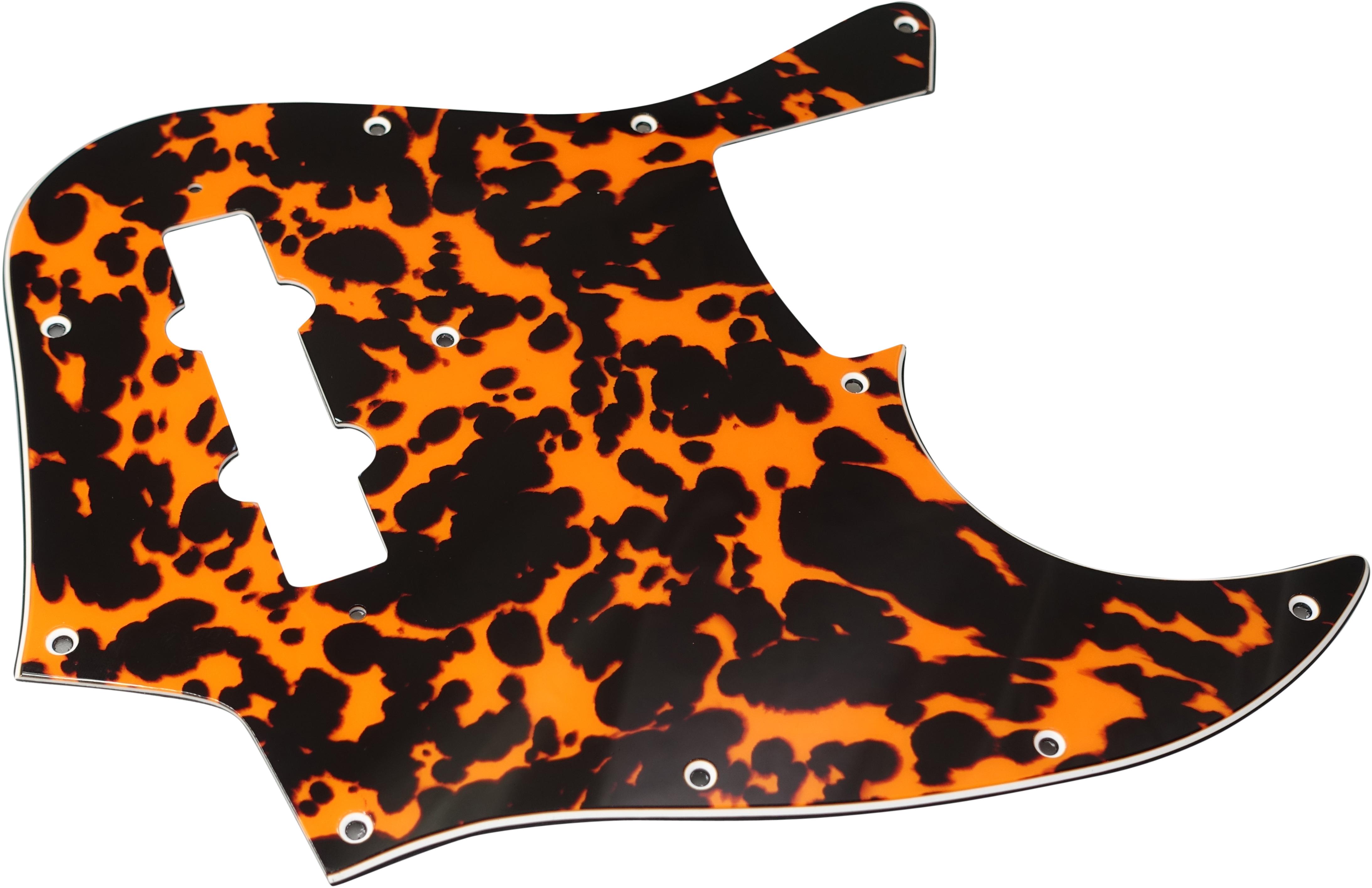 Toronzo Pickguard JB-3PLY-Wild Cat Orange
