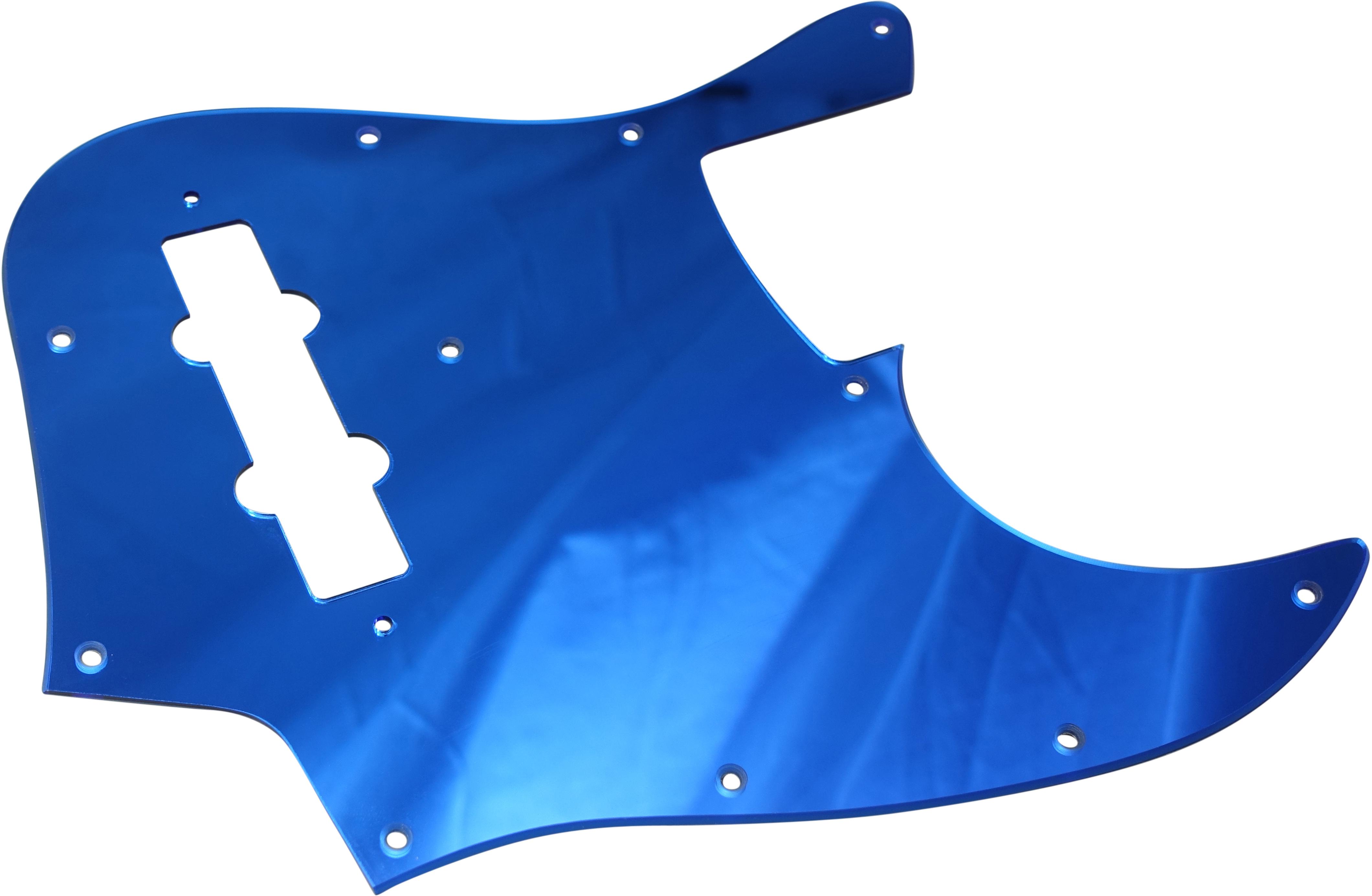Toronzo Pickguard JB-2PLY-Mirror Blue
