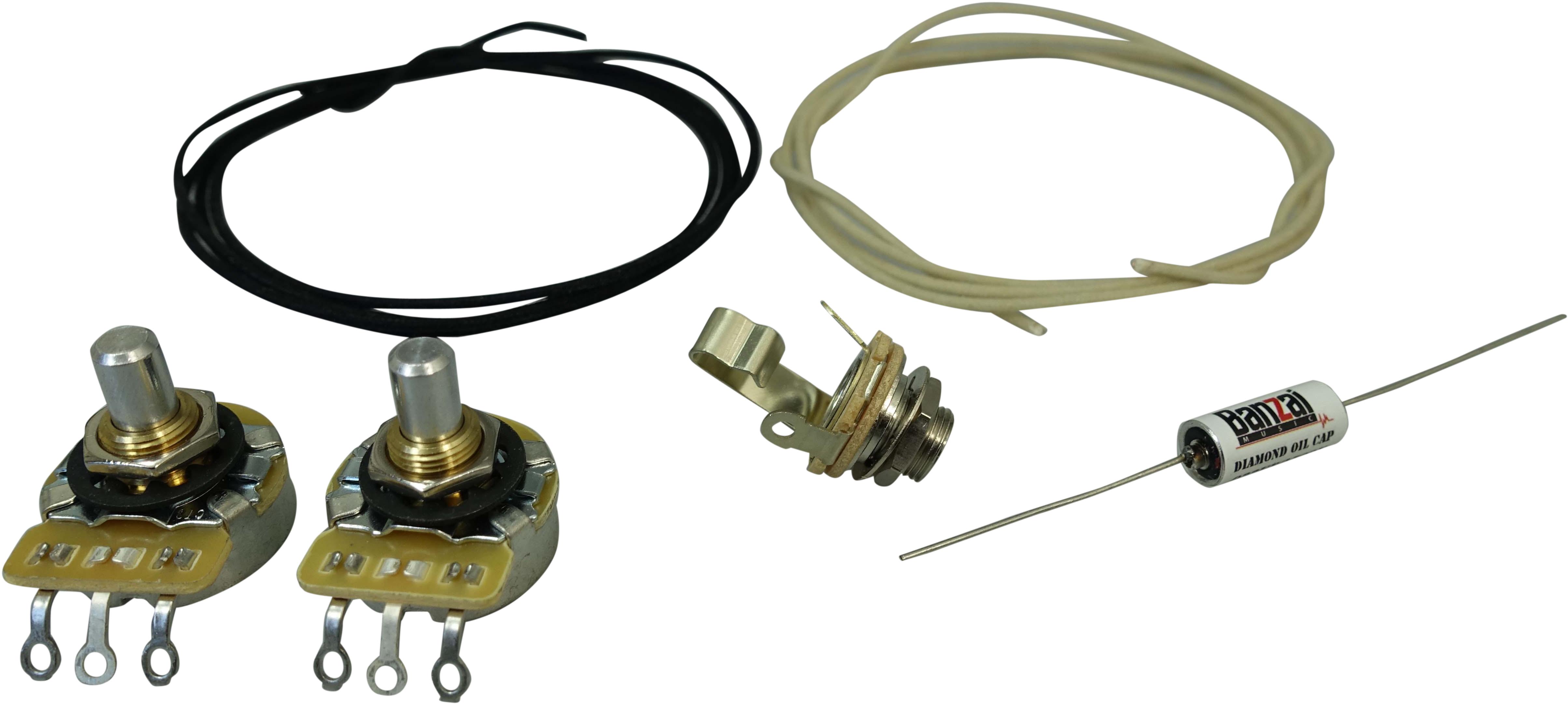 Wiring Kit Precision B Kit WK-PB :: Wiring Kits :: Guitar ... on