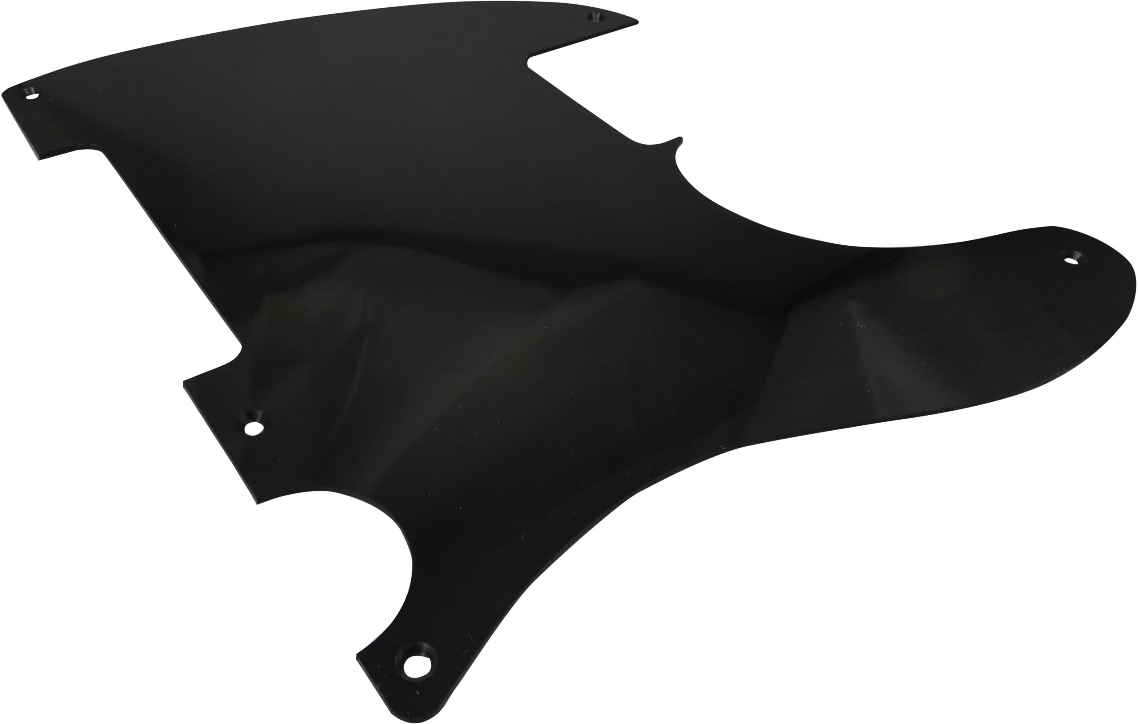 Toronzo Pickguard ESQ-1PLY-Black