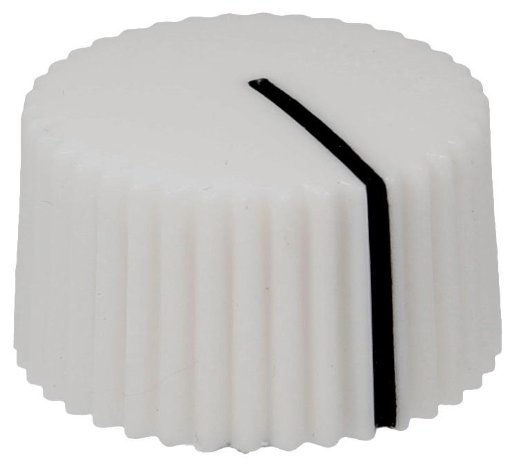 Amp style knob PSH-White