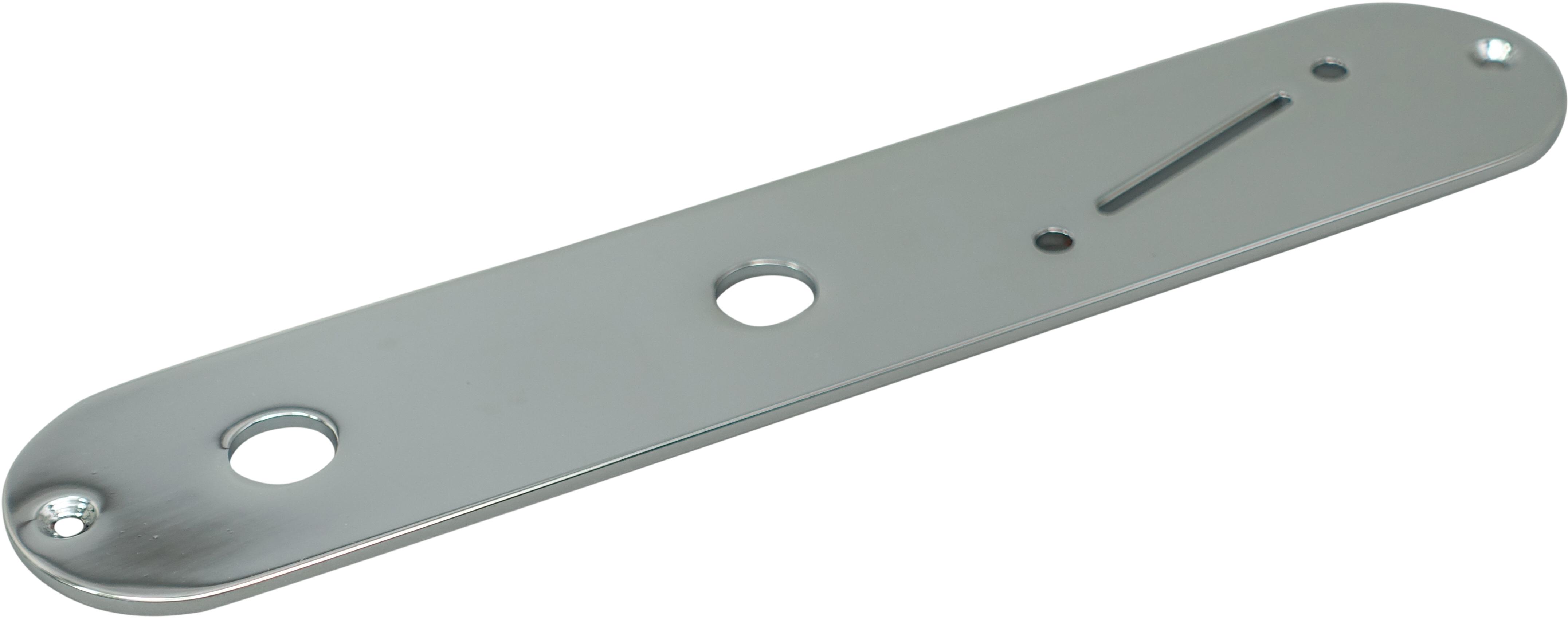 GNA Tele Plate Slanted-Chrome