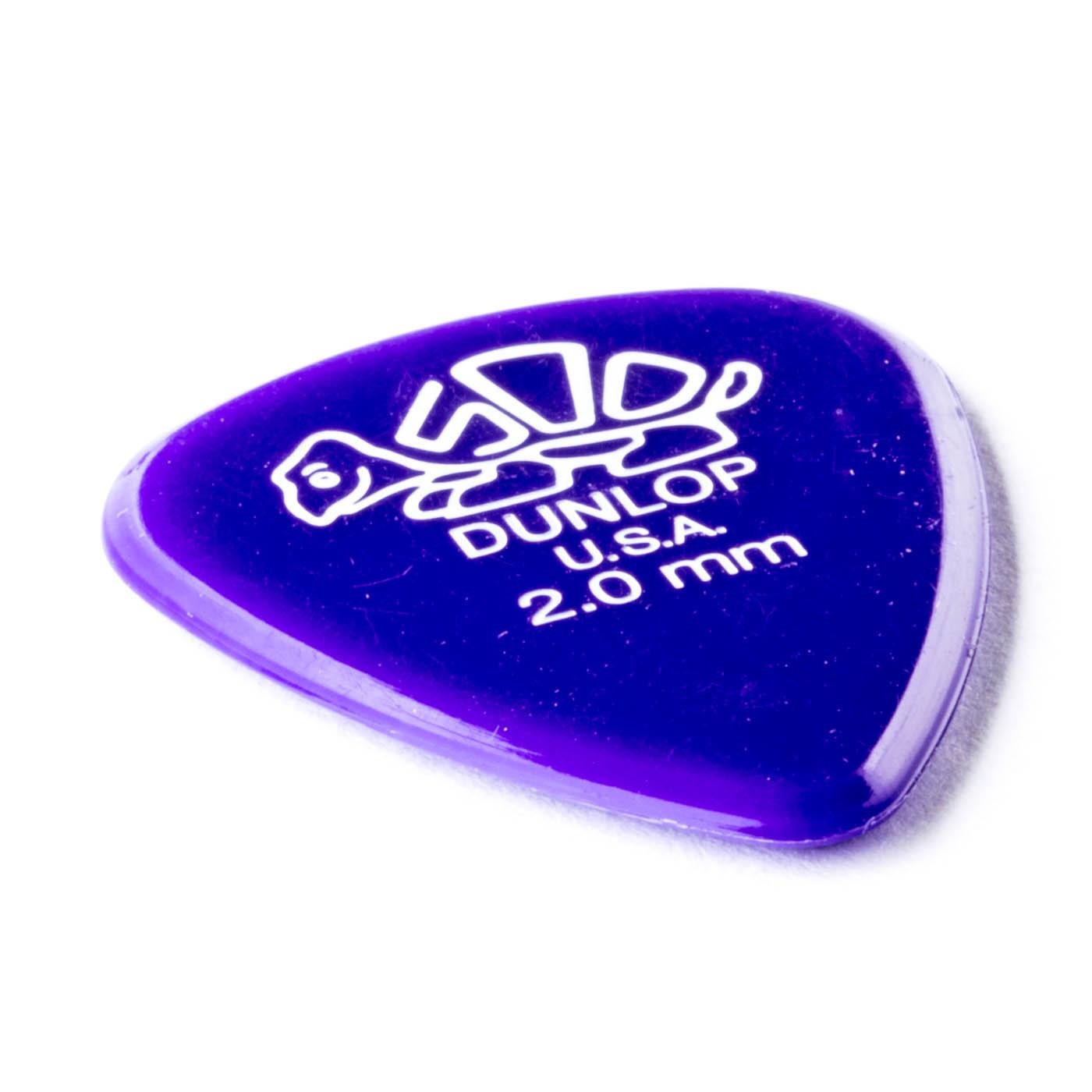 Dunlop - Delrin 500 2,00 dark violet