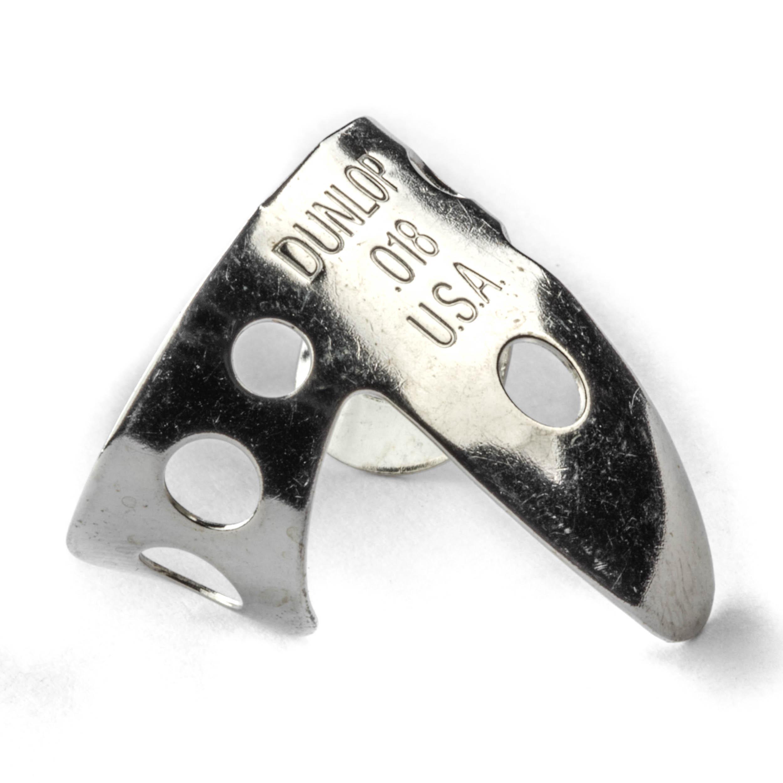 Silver 0,018 inch Fingerpick