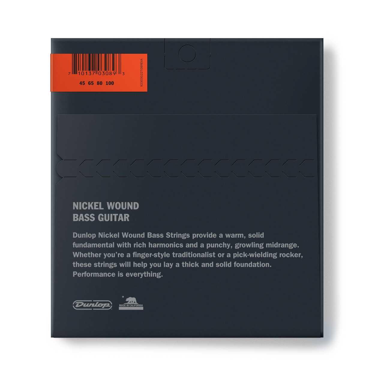 Dunlop Bass NPS 45-100