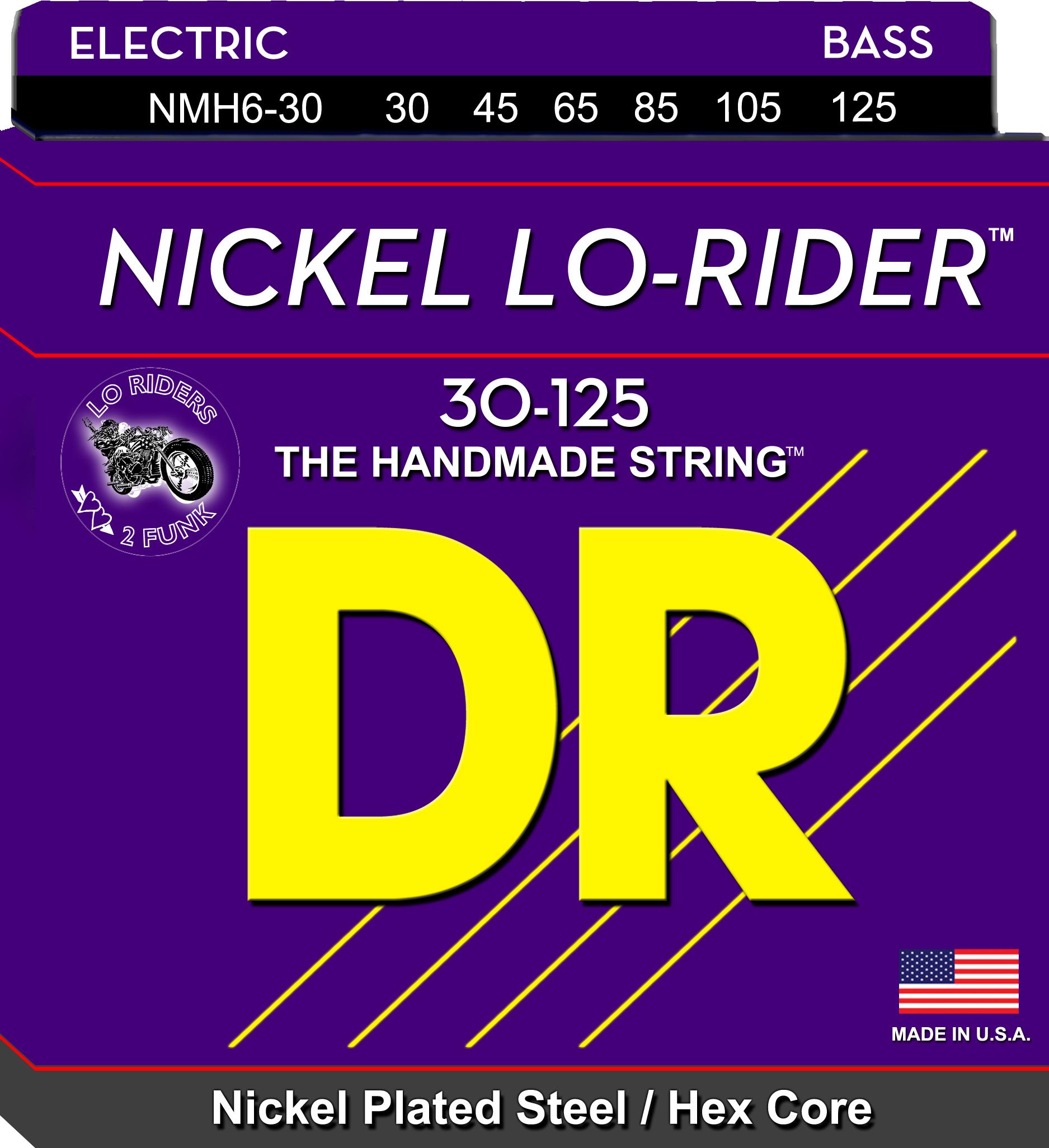 DR Nickel Lo-Rider NMH6-30