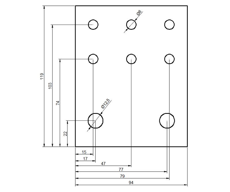 Eddystone Enclosure BB-V62