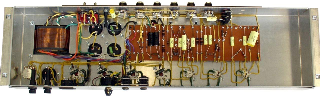 TAD PLEXI 100WMV KIT-CAB-GRN-BLK