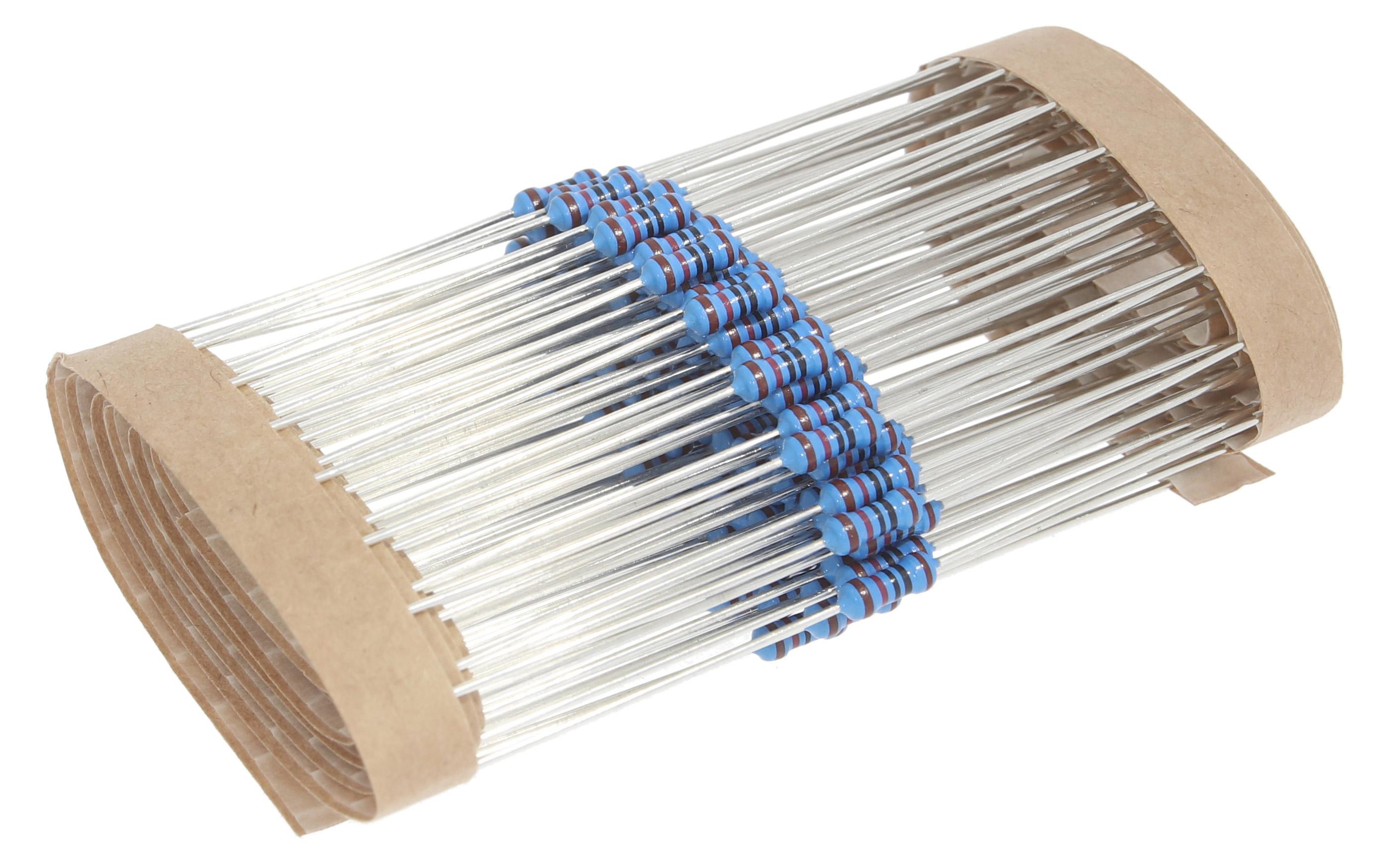 Resistors Metal Film 0,25W Bulk Pack