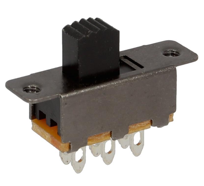 DPDT Mini slider switch