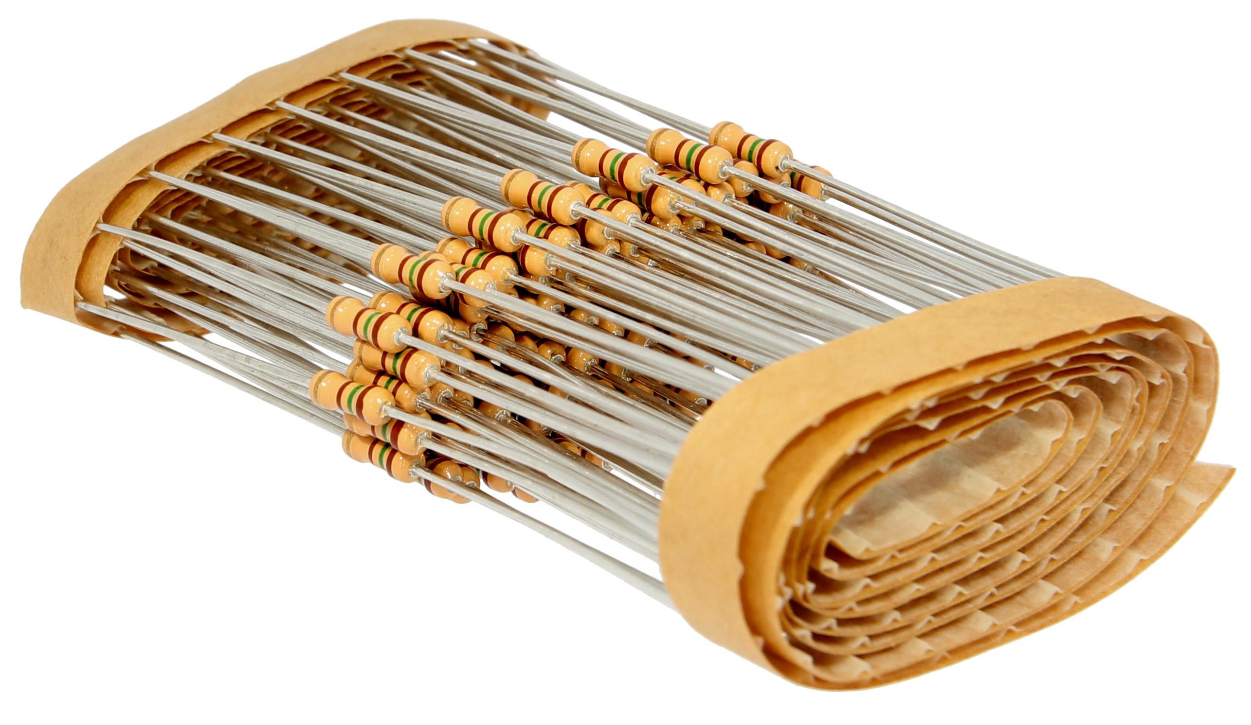 Carbon Resistors 0,25W Bulk Pack