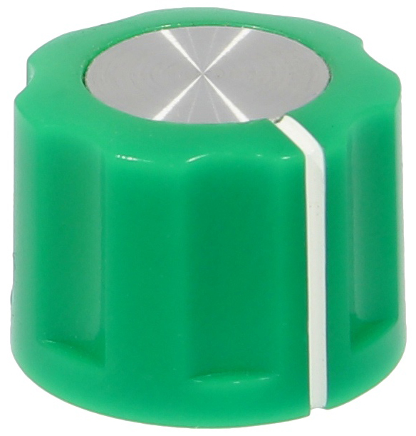 Synth knob Synthie-2-PSH Green
