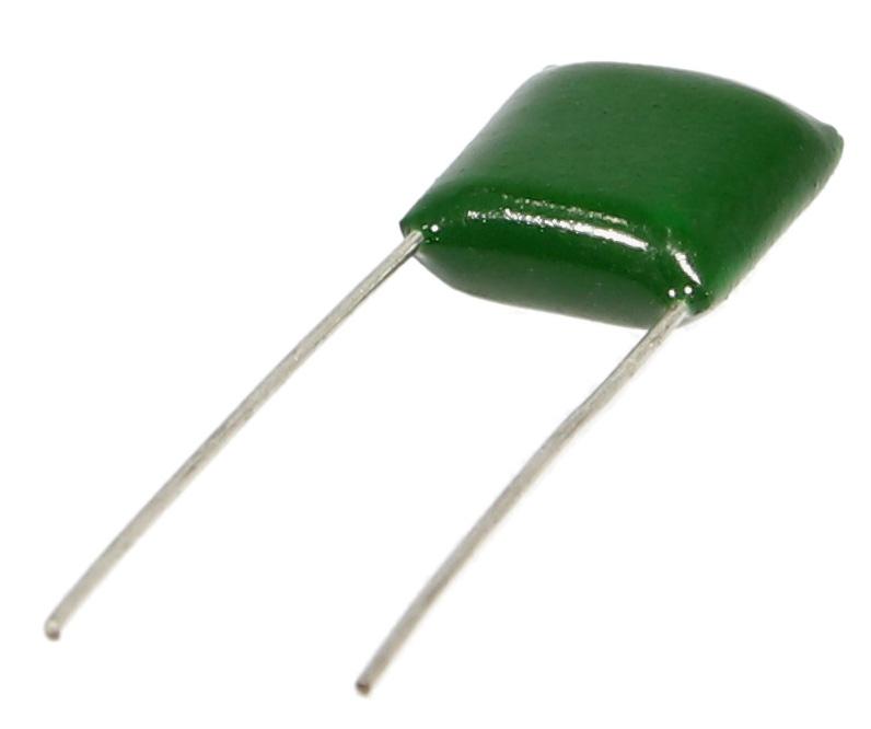 Film capacitor greenies