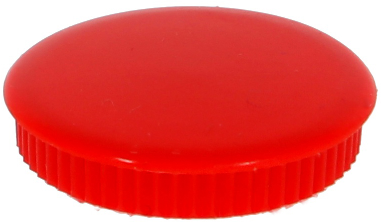 Teardrop 28mm Cap Red