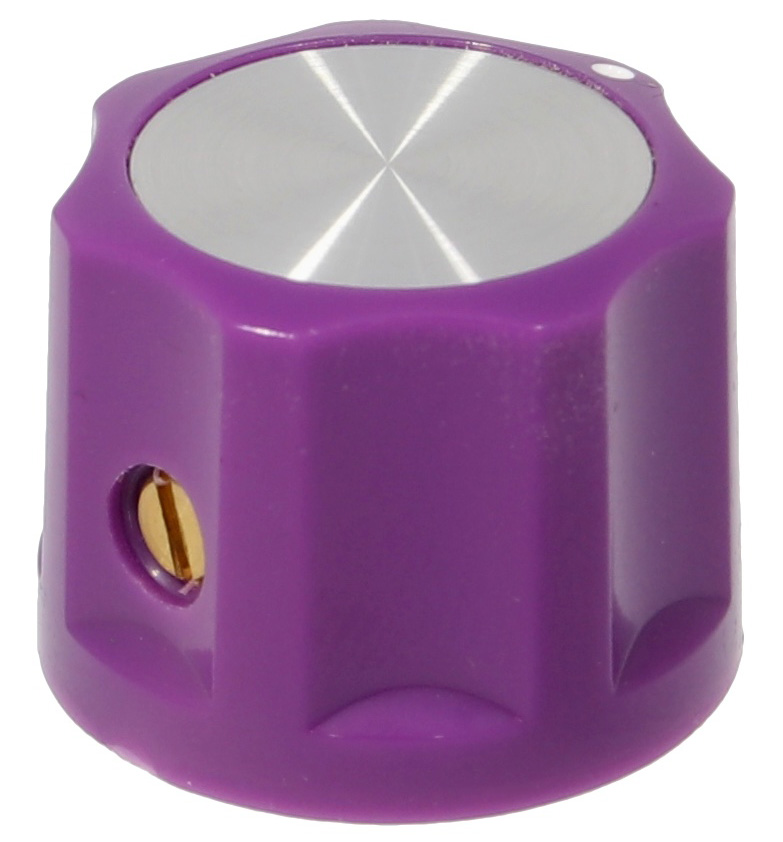 Synth knob Synthie-3 Violet