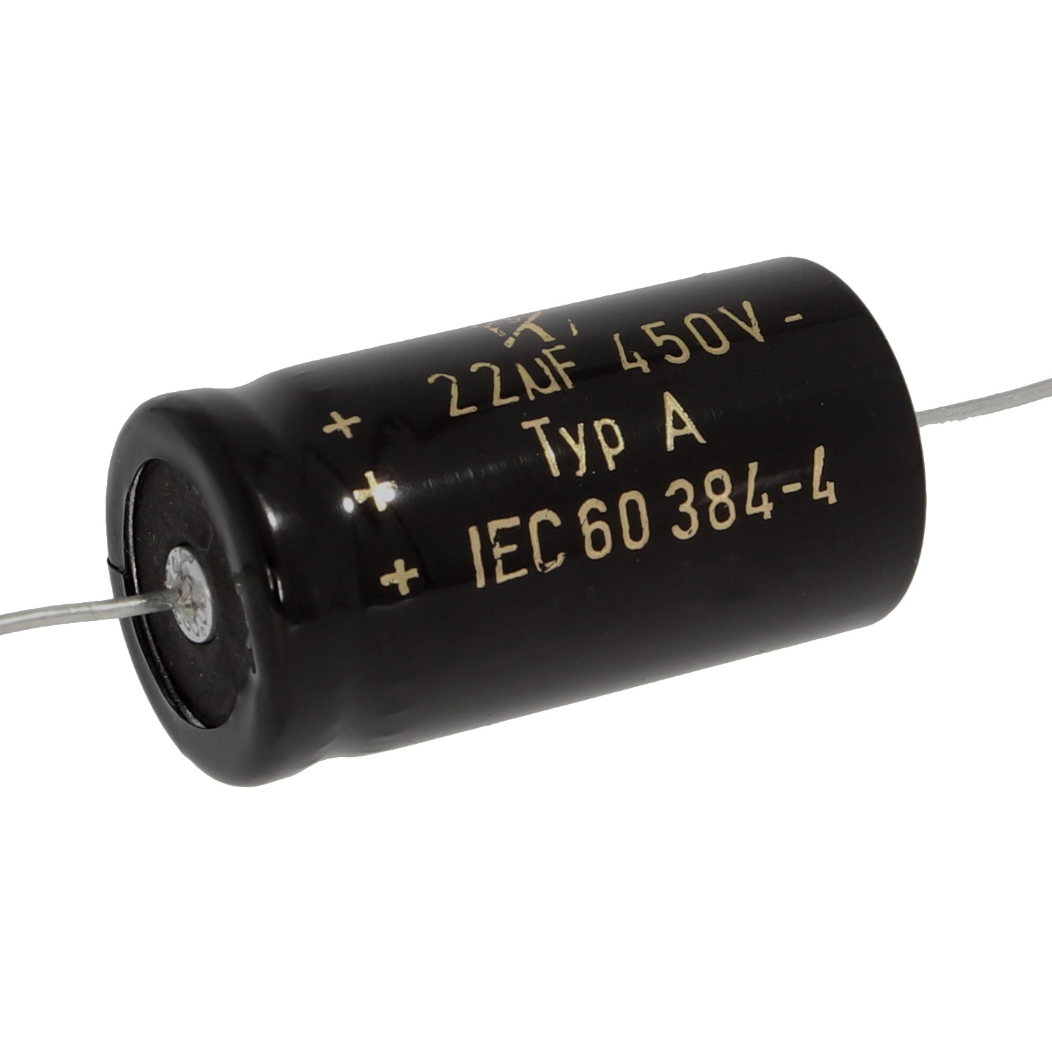 F+T axial capacitor