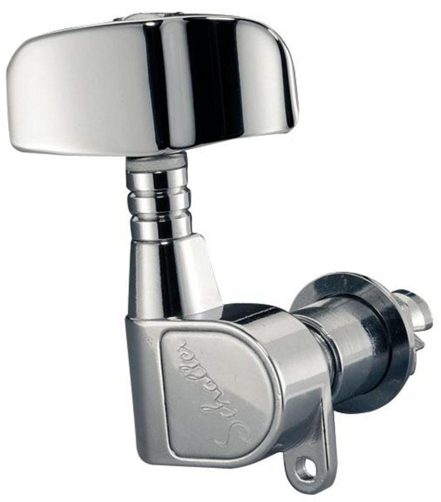 Schaller Machine Head M4 2000 2 left/ 2 right Chrome